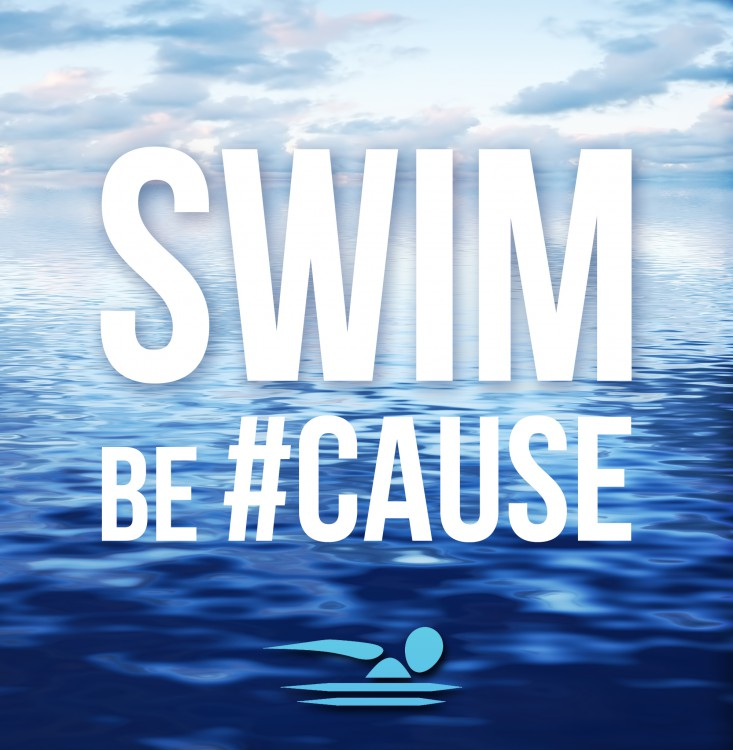 Swim be#Cause Logo