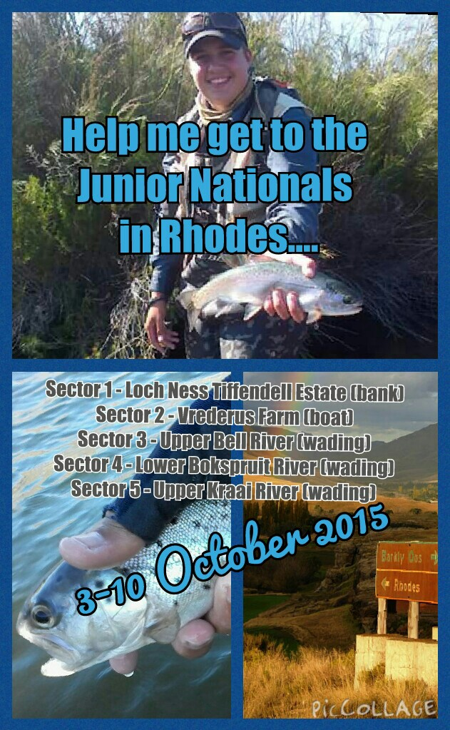 Help Thomas get to the National Youth Fly Fishing Championship Thumb Image