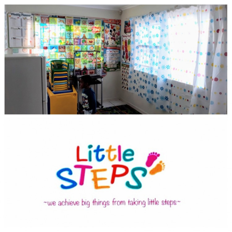 Little Steps Day Care Cause Logo