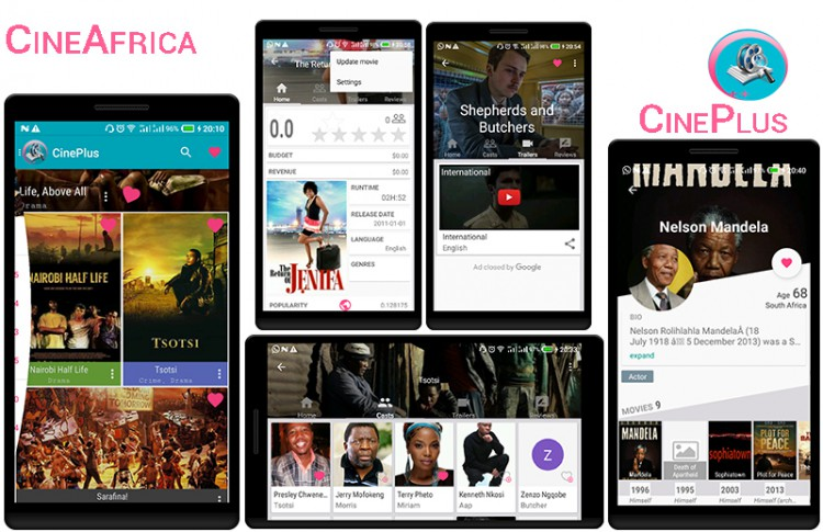 Cinema App for 54 African countries Thumb Image
