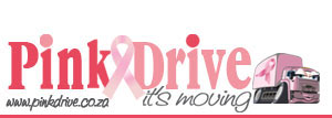 Pink Drive Breast Cancer Fundraising Logo