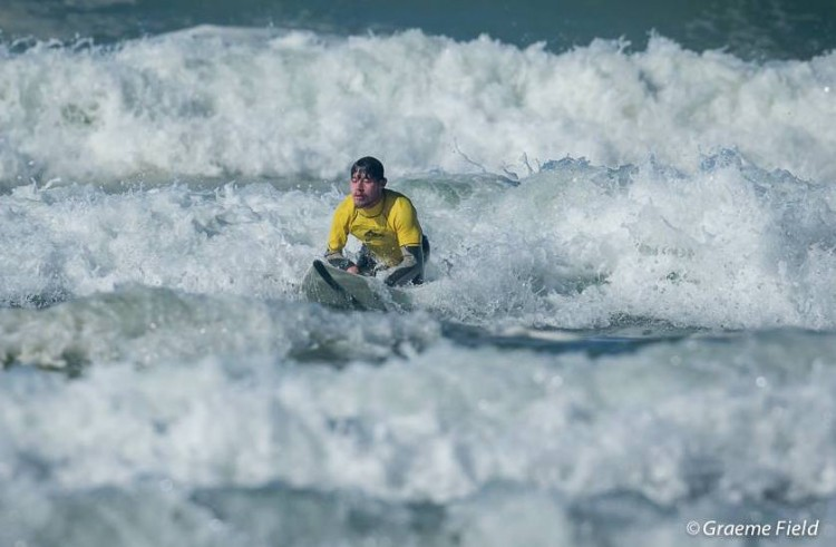 Tyler Funding for Adaptive Surfing Champs Logo