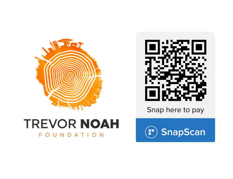 Trevor Noah Foundation Logo