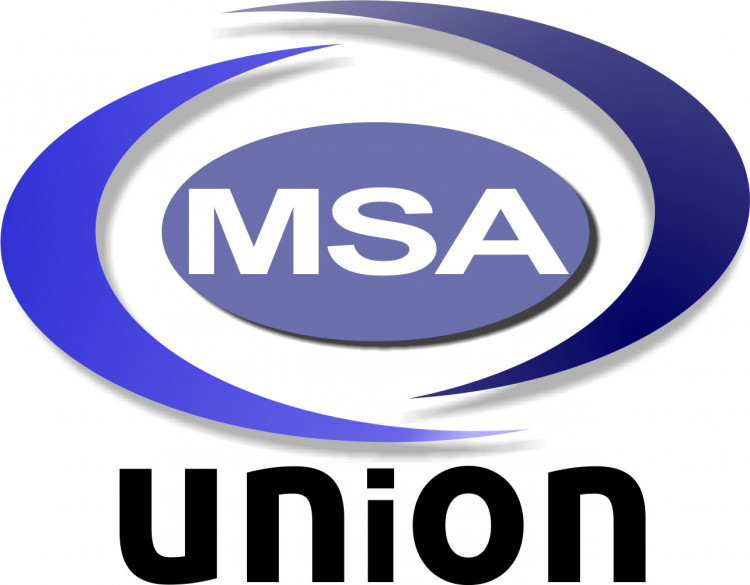 MSA UNION NATIONAL CONFERENCE CAUSE Logo