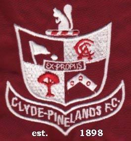 Clyde Pinelands Football Club Logo