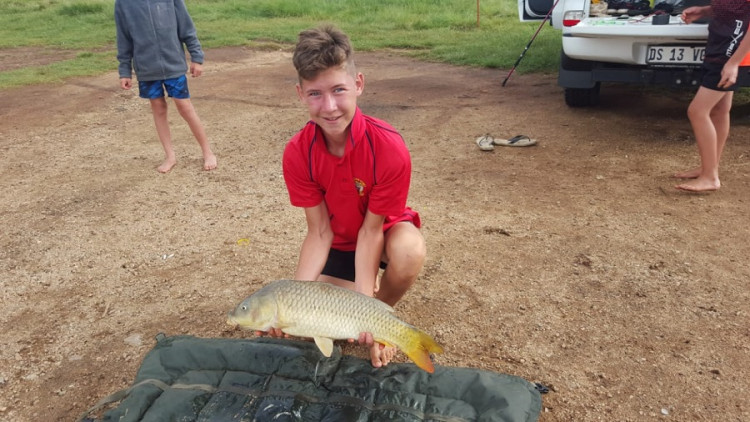Tyron Van Tonder Fishing Cause Logo