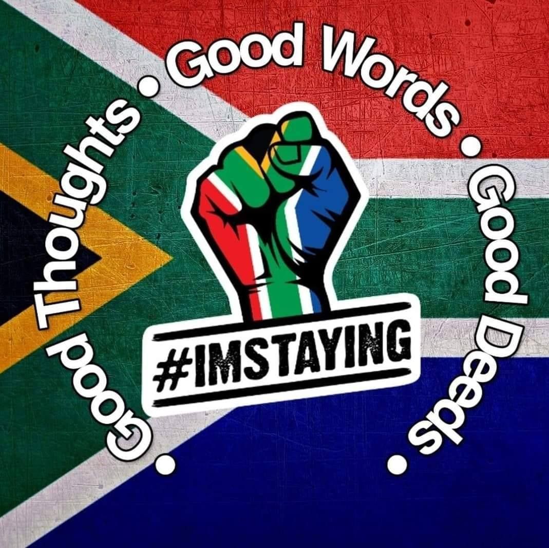 #ImStaying Logo