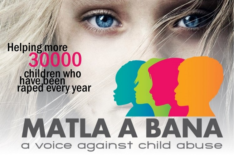Matla A Bana - A voice against child abuse Logo