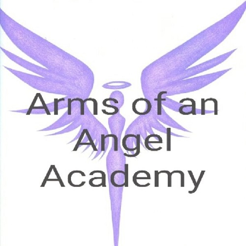 The Arms of an Angel Academy Cause Logo