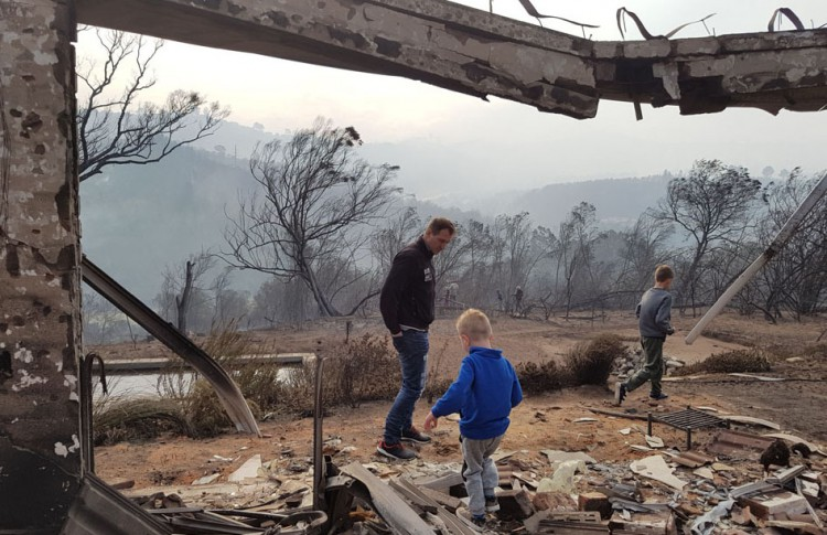 Lost it all in the Knysna Fire Thumb Image