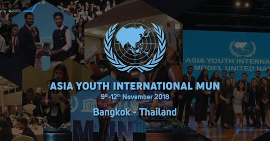 Asia Youth International Model United Nations 2018 Cause Thumb Image