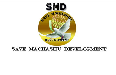 Save Maqhashu Community Development Logo