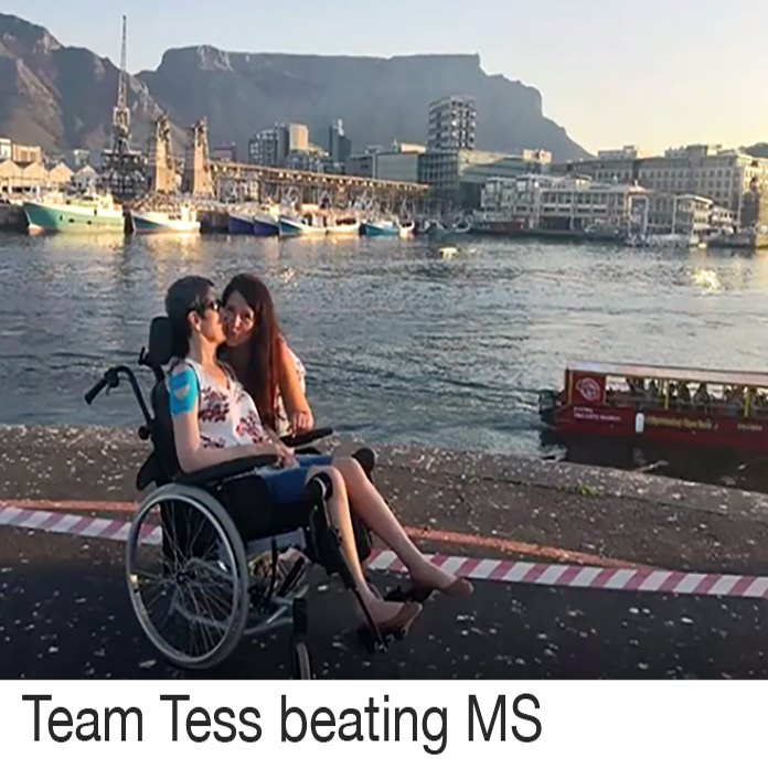 Support for Tess Rodrigues Name