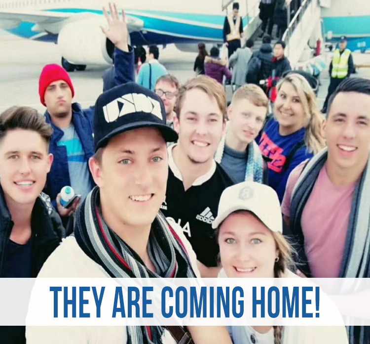 The 50 kids are coming home! Name