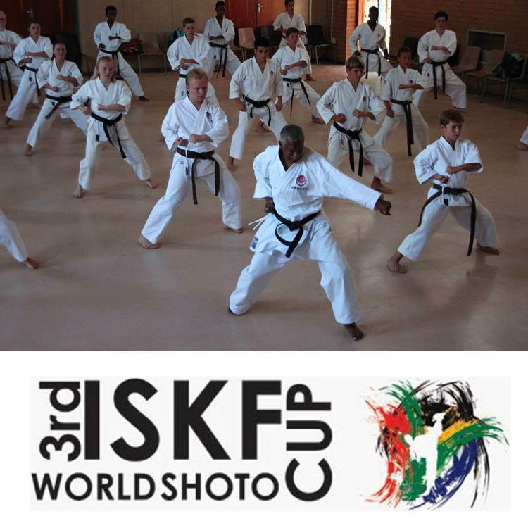 3rd ISKF World SHOTO Cup South Africa Name
