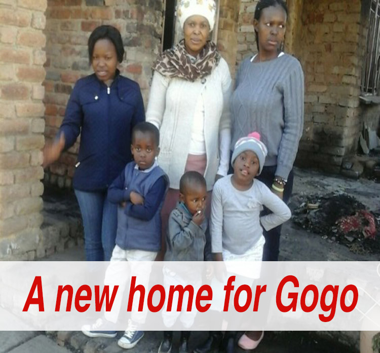 A new home for Gogo Name