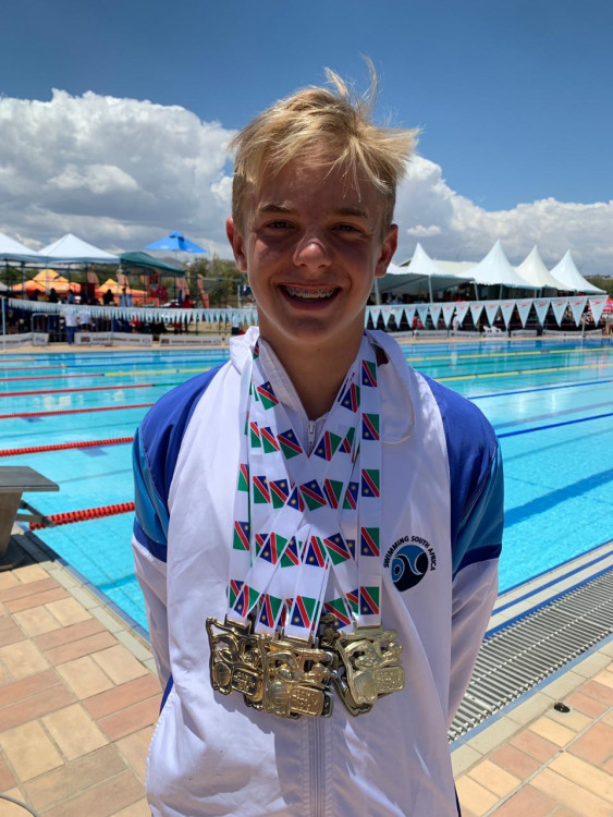 Help Get Kian to Junior African Champs