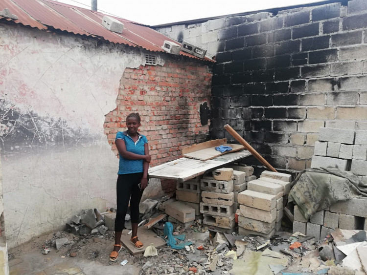 Rebuilding Zimkhitha's Home