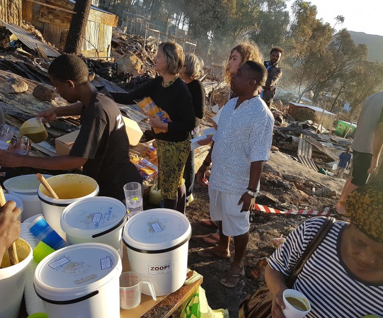 Fire Relief Fund for Imizamo Yethu
