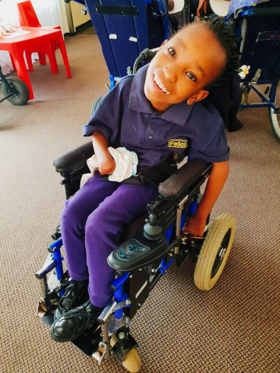 Electric wheelchair for Angel