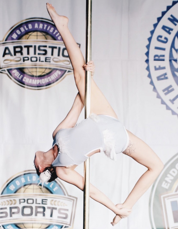 Help Kaitlin get to the World Para-Pole Championships