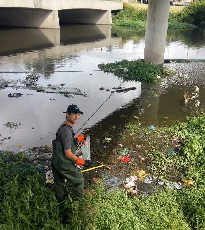 'Help Up' River Cleanups