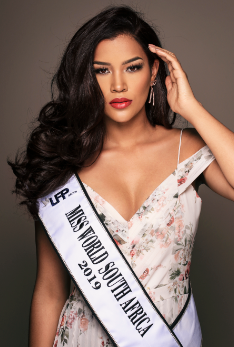 Sasha-Lee Miss World SA 2019 Beauty With A Purpose - #ItsNotYourFault
