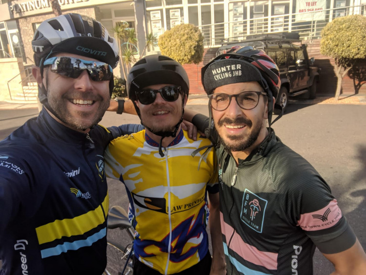 Andrew - Cycle Tour for Bridges for Music 2019
