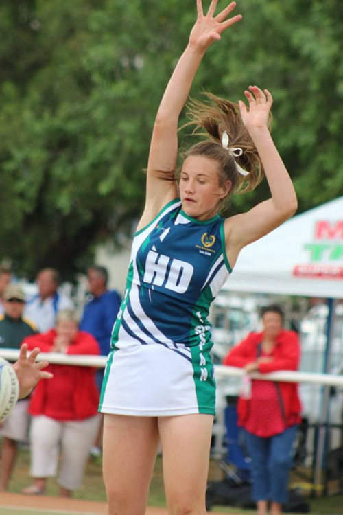 Mari Pieterse Dubai Netball Tournament