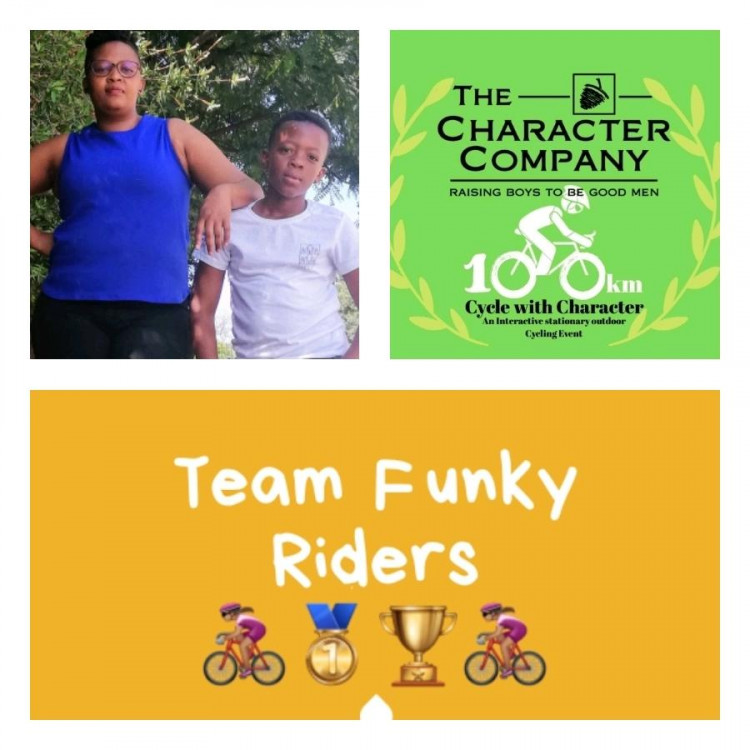 100km with Character - Team Funky Riders