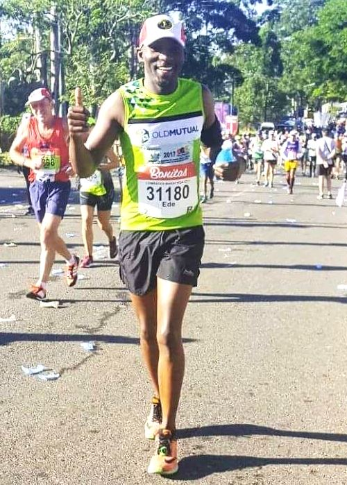 Epilepsy is like the Comrades Marathon!