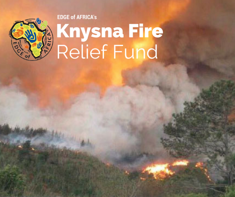 EDGE of AFRICA - Knysna Fire Relief Fund