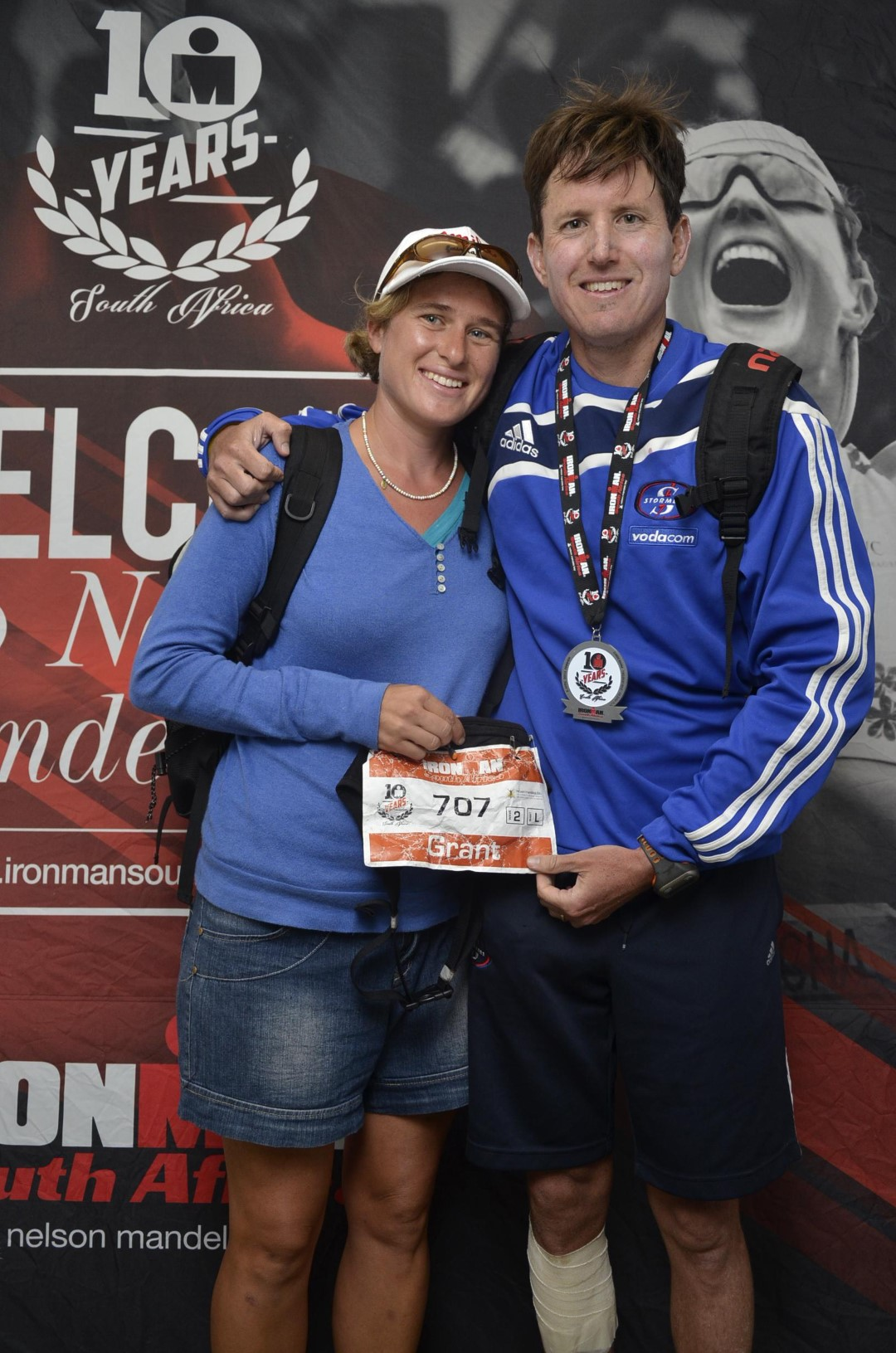 Grant's 2015 Ironman for the Smile Foundation