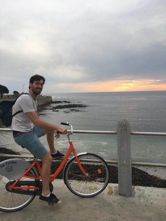 Hannes' Cycle Tour Challenge for Mamelani Projects 2019