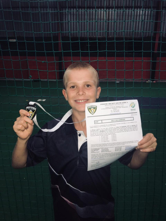 The next AB de Villiers? Erlo van Aswegen - SA National Indoor Cricket Funding