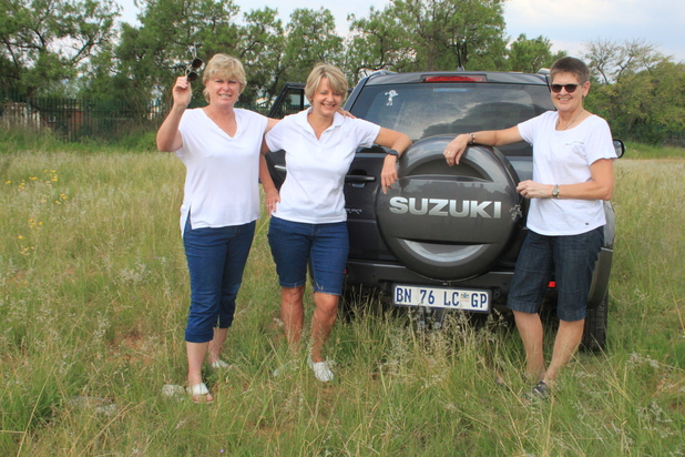 The Skrik vir Niks team - The Put Foot Rally