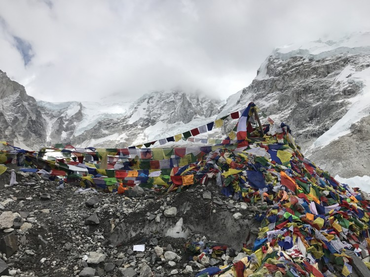 Connie's Everest Base Camp for Avela