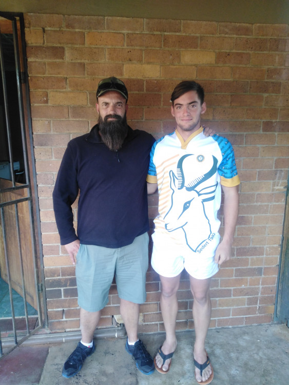 Datan Oosthuizen tour to Romania for the SA Bokkie Rugby