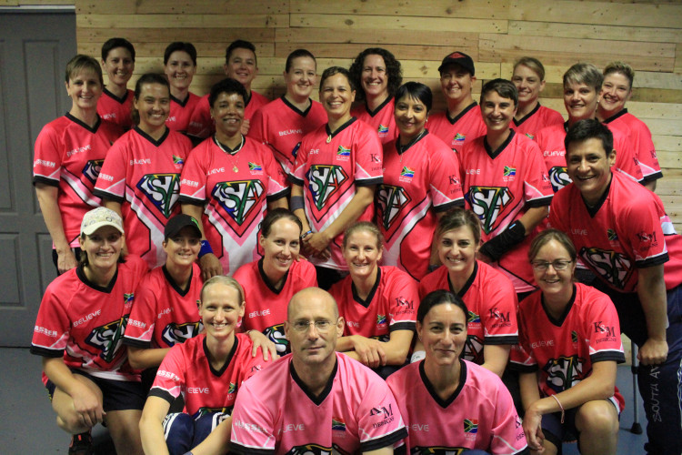 S.A. Masters Ladies Indoor Cricket World Series