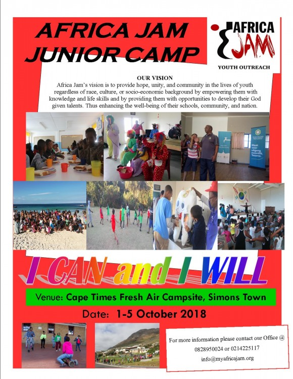 Africa Jam Youth Outreach Junior Camp