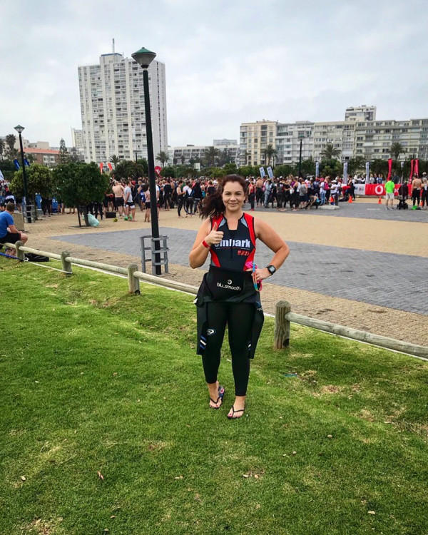 Lizanne  - Ironman for Smile Foundation 2019