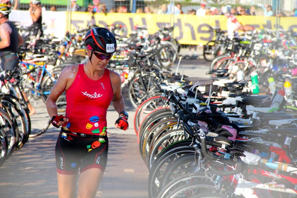 Lizette Owen's 70.3 for the Smile Foundation