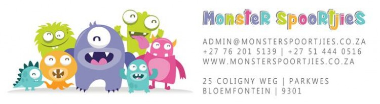 Fundraising for Monster Spoortjies Daycare Centre