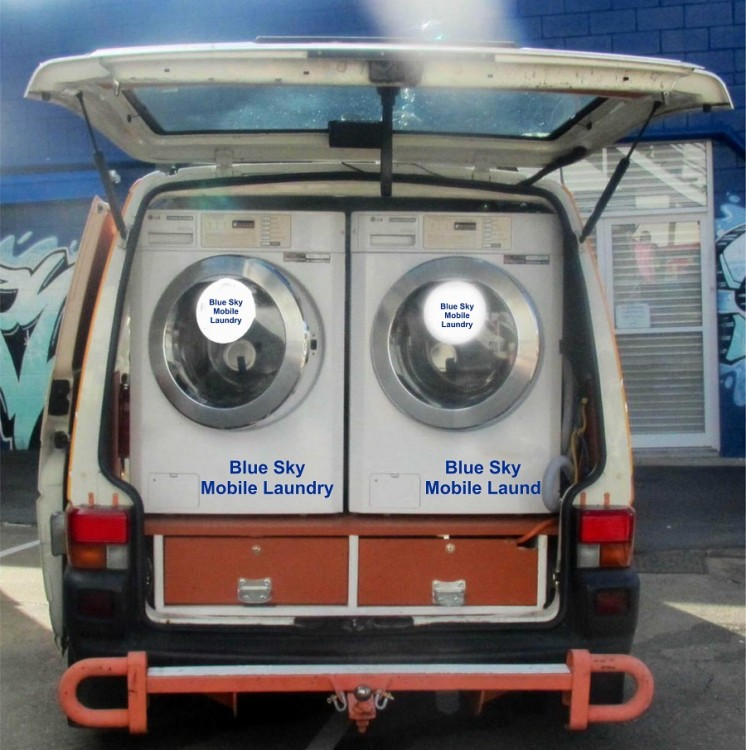 Blue Sky Mobile Laundry Service South Africa