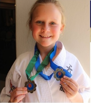 Olivia's journey to Karate World championships - June 2019