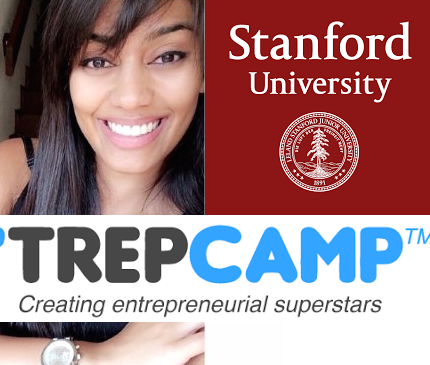 Please help take me to Stanford University for TrepCamp!