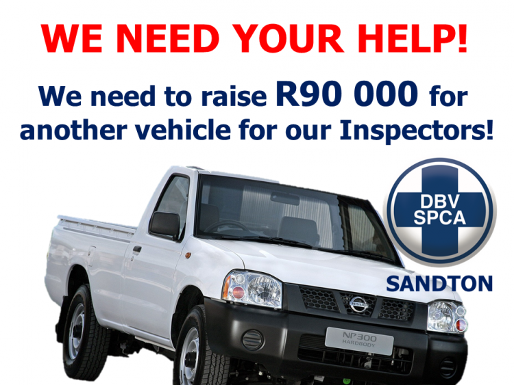 Sandton SPCA Vehicle Fundraiser