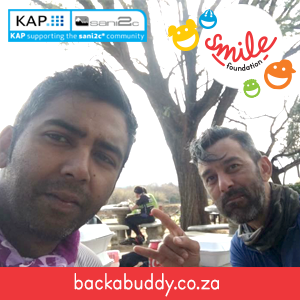 Greg & Sahir Partner with GEMELLI Restaurant to Ride Sani2C for Smile Foundation