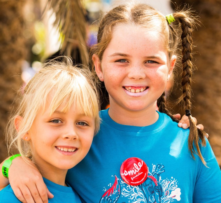 Savannah & Hope's Ironkids for Smile