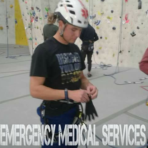 Volunteer Medical and Rescue student